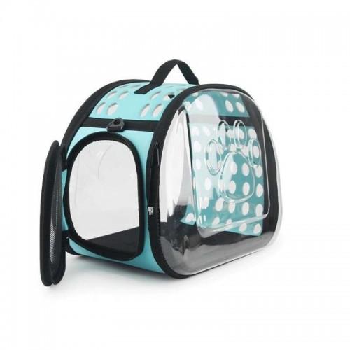 Transparent Pet Puppy Dog Cat Carrier Outdoor Pet Travel TRANSPARENT BAG
