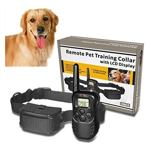 REMOTE PET TRAINING COLLAR LCD