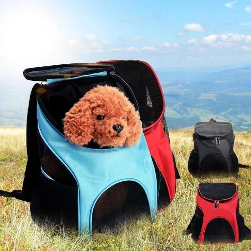Dog Bag Backpack Pet Travel Dog Cat Carrier Mesh Windows backpack PET 1