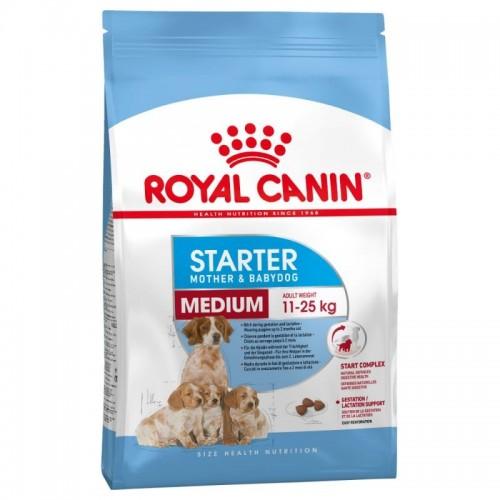 Royal Canin Medium Starter Mother & Babydog суха храна 4kg