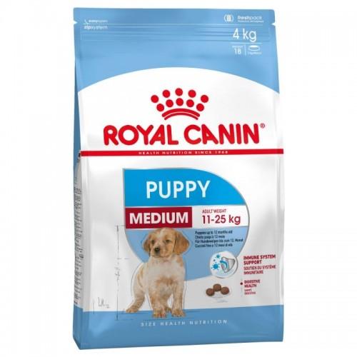 Royal Canin Medium Puppy суха храна 4kg