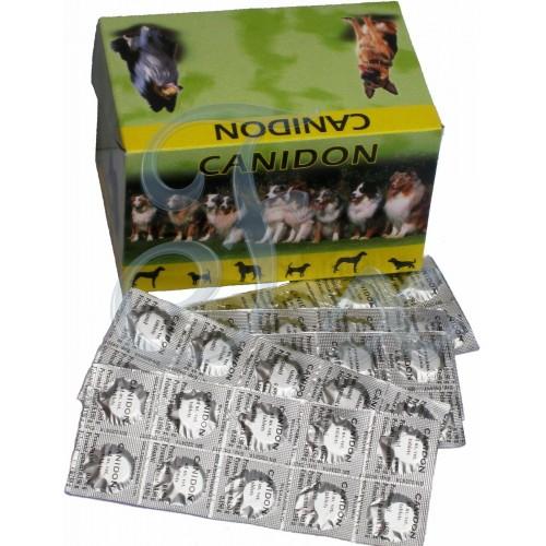 CANIDON dog wormer 50 Tablets - DRONTAL Plus Analog