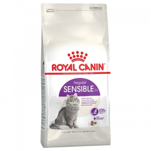 Royal Canin Sensible 33 Cat 2kg FHN Sensible 33 2kg