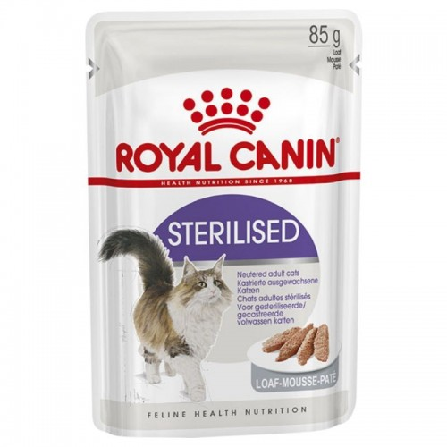 Royal Canin Dog Food STERILISED in Loaf 85g