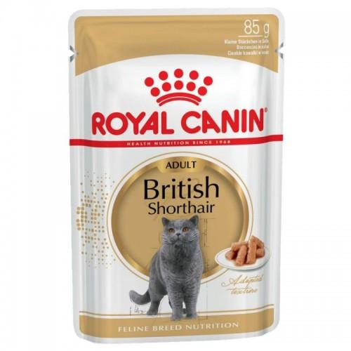 FBN British Shorthair Pouch 85g