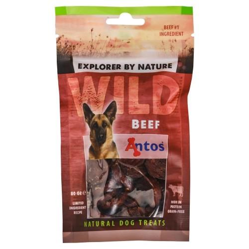 ΛΙΧΟΥΔΙΕΣ με γευση μοσχαρι  WILD Beef 80 gr