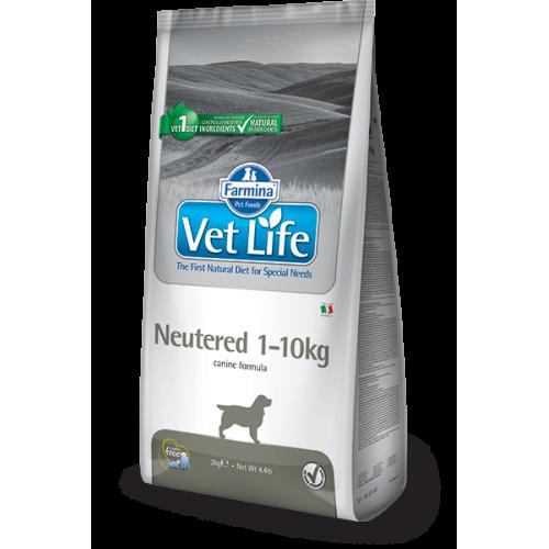Farmina Vet Life Neutered 1 - 10 kg 2 kg. - Dog