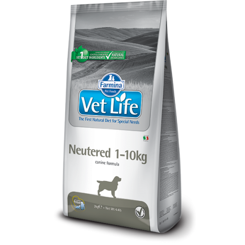 Farmina Vet Life Neutered 1 - 10 kg Dog 10 kg.
