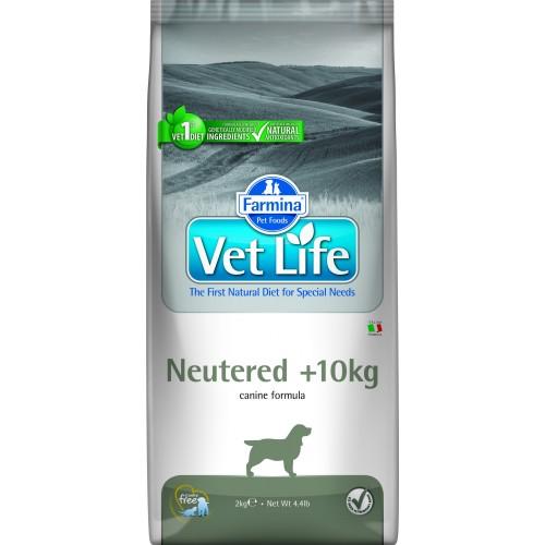 Farmina Vet Life Neutered +10kg DOG 2kg