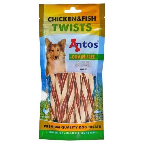 ΛΙΧΟΥΔΙΕΣ Chicken&Fish Twists 100 gr