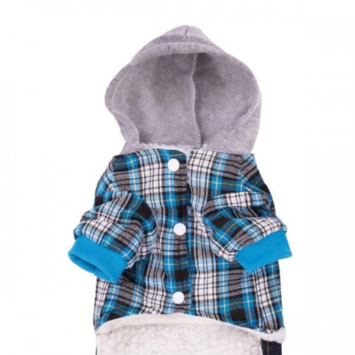 BLUE SQUARE DOG CLOTHING WITH JEANS dog jean blue