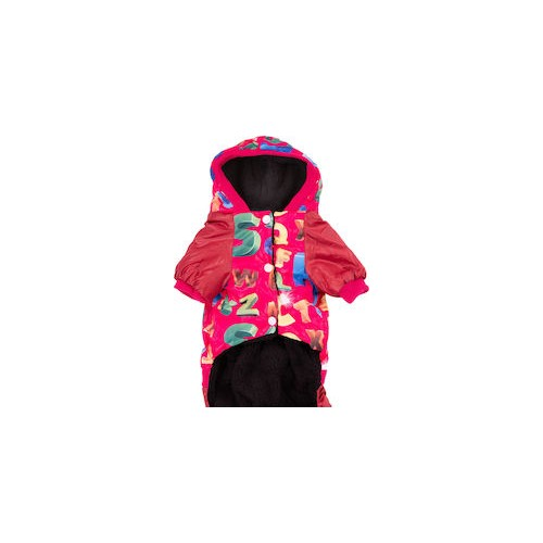 AB DOG JACKET RED