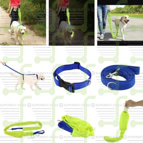 reflective pet leash
