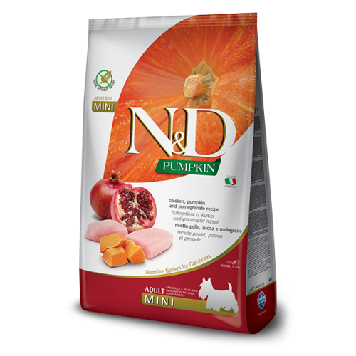 N&D Chicken & Pomegranate Adult Mini 7kg