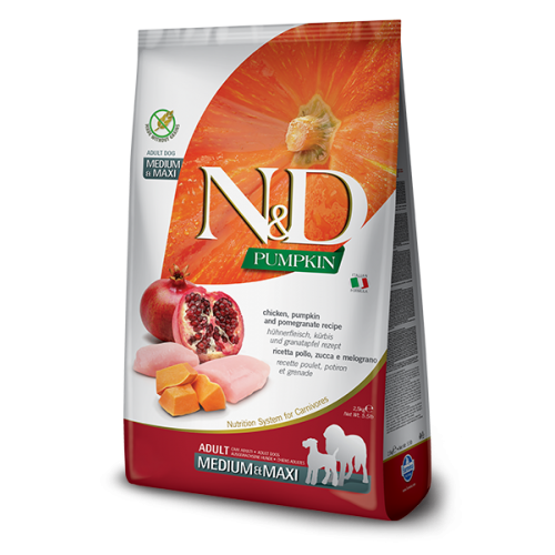 N&D Chicken & Pomegranate Adult Medium & Maxi 12kg