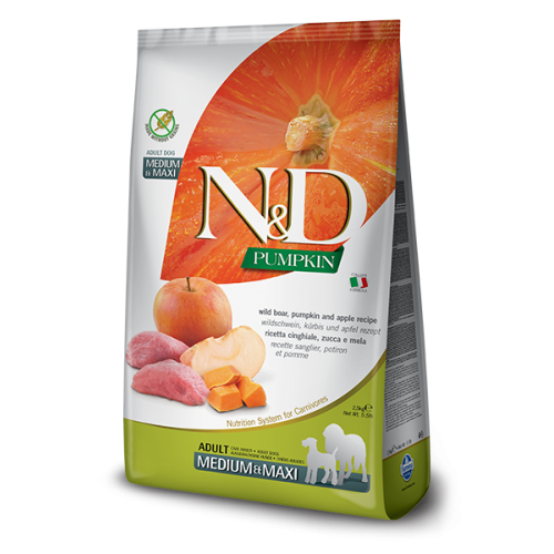 N&D Boar & Apple Adult Medium & Maxi 2,5kg