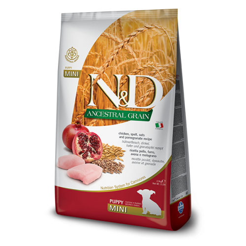 N&D Chicken & Pomegranate Puppy Mini 2.5kg
