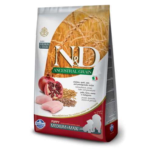 N&D Chicken & Pomegranate Puppy Medium & Maxi 2,5kg