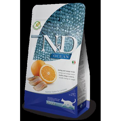 N&D Herring & Orange Adult 10kg