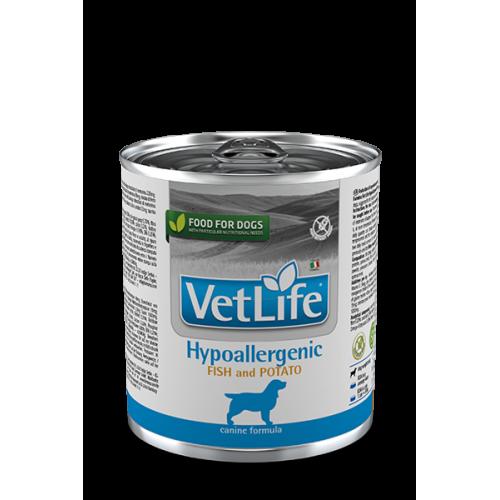 ΚΛΙΝΙΚΗ ΚΟΝΣΕΡΒΑ Hypoallergenic Fish & Potato Wet Food Canine dog
