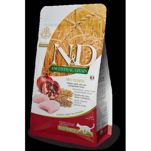 N&D Chicken & Pomegranate Neutered 1,5g
