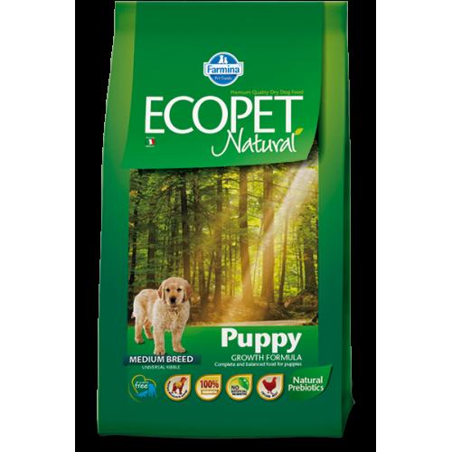 ECOPET Natural Puppy Medium 2.5kg 21.06.020