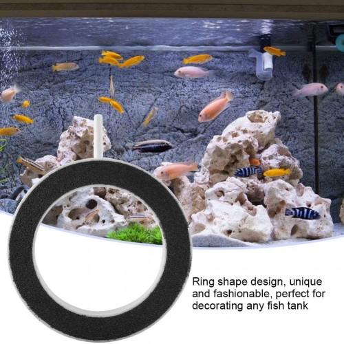 Fish Tank Pond Aquarium Round Air Bubble Disk Airstone 4 inch RING AIRSTONE