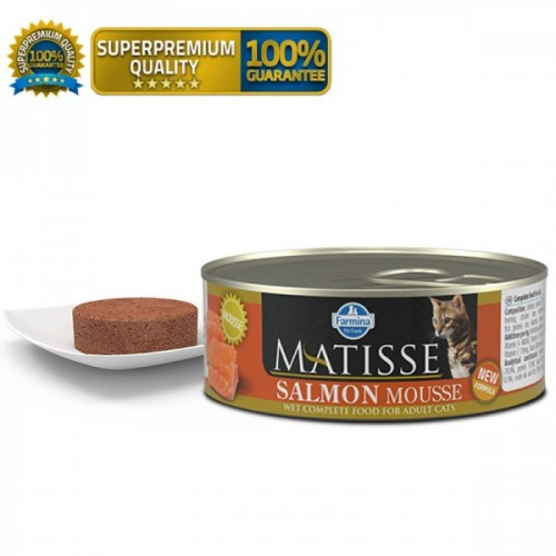 MATISSE Cat Mousse Salmon Mousse 85g