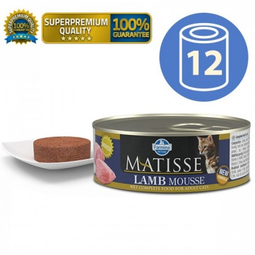 MATISSE Cat Mousse Lamb mousse 85g