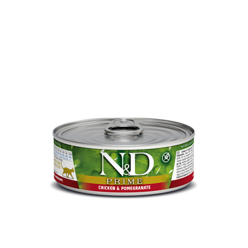 PRIME  Chicken and Pomegranate wet food 80g (6+6ΔΩΡΟ)