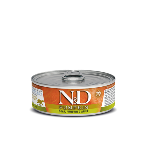 PUMKIN Boar & Apple Wet food 80g (6+6 ΔΩΡΟ)