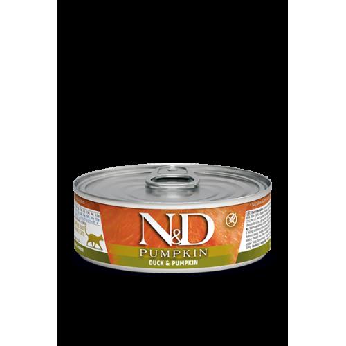 PUMKIN Duck & Pumpkin Wet food 80g(6+6 ΔΩΡΟ)