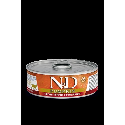 PUMPKIN Chicken & Pomegranate Wet food 80g (6+6 ΔΩΡΟ)