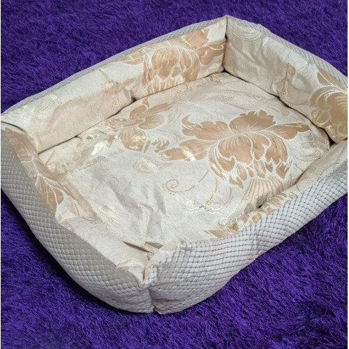 SATEN DOG BED 1