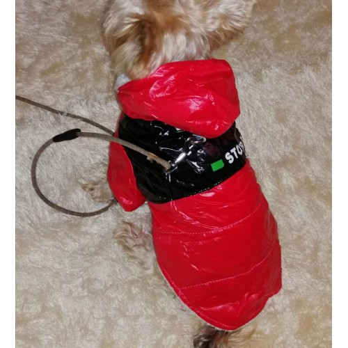 OEM PRODUCTS DOG JACKET RED