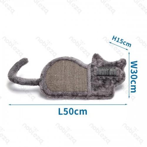 Cat Scratching grey