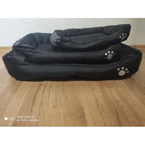 DOG BED BLACK