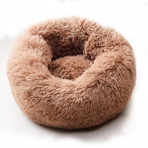 DOG BED Brown DARK