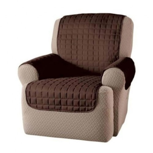 Reversible Single Couch Coat Recliner Cover CHAIR COVER