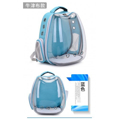 Clear Kitten Backpack, Airline Approved Space Capsule Pet Carrier Backpack for Small Dog Dog Space Capsule